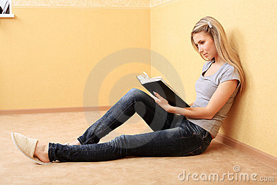 Rest with a book