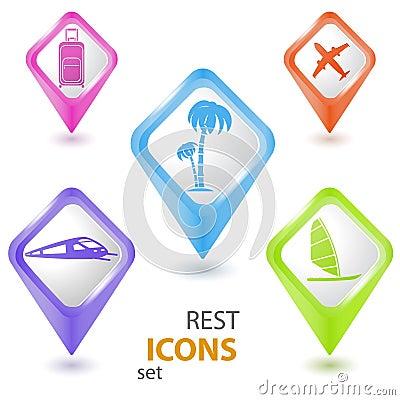 Rest pointers set