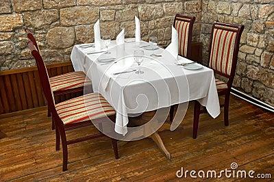 Restaurangtabell