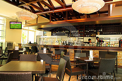 Restaurant, Bar & Bistro Editorial Image
