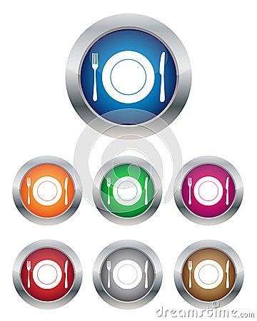 Restaurant buttons