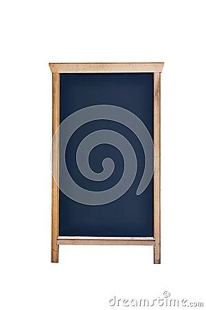 Restaurant or cafe empty  menu sign blackboard