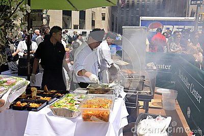 Restaurant Days at Rockefeller Center Editorial Stock Image