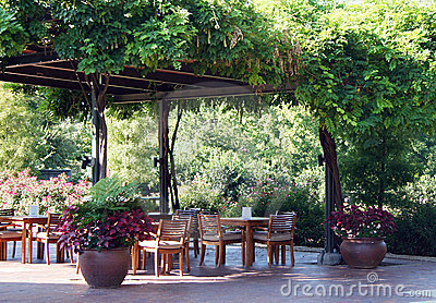 Restaurant Dining Outdoors