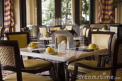 Restaurant Dining Tables Setting