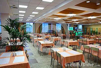 Restaurant dinning hall