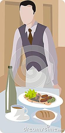Restaurant Illustration Series