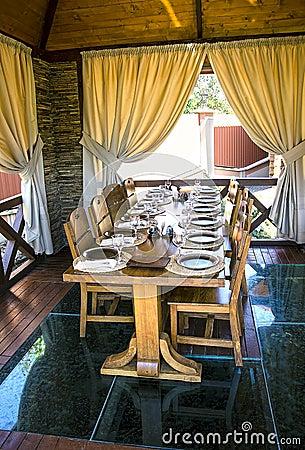 Free Restaurant Interior Royalty Free Stock Photo - 32424615