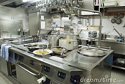 restaurant kitchen stock photography image 20665232