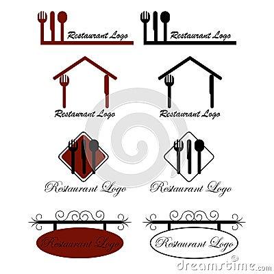 Free Restaurant Logos Stock Photo - 17635750