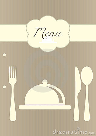 Restaurant menu background