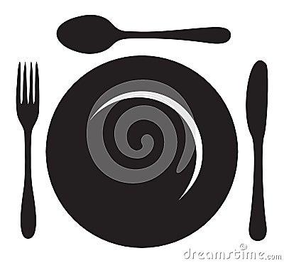 Restaurant Menu Logo Stock Image - Image: 33693731