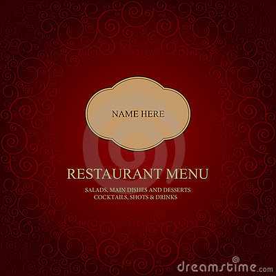 Restaurant menu tempale design