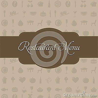 Restaurant Menu. Vector