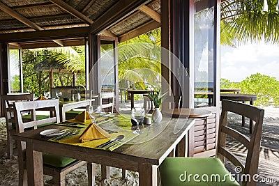 Restaurant near the ocean