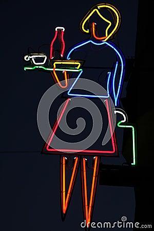 Restaurant neon