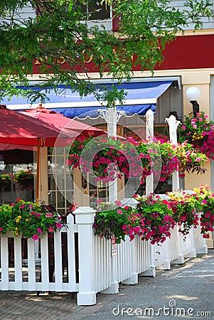 Free Restaurant Patio Stock Image - 2194881
