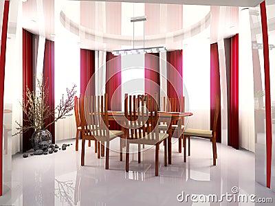 Restaurant a room
