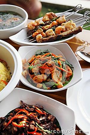 Restaurant set menu