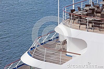Restaurant on ship