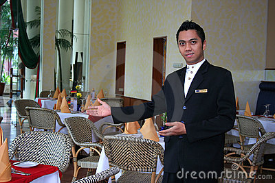 Restaurant staff or waiter