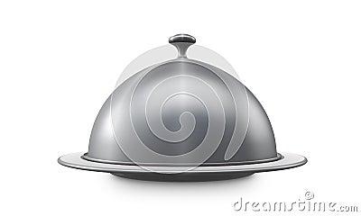 Restaurant steel serving tray