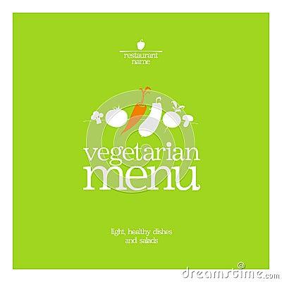 Restaurant Vegetarian Menu.