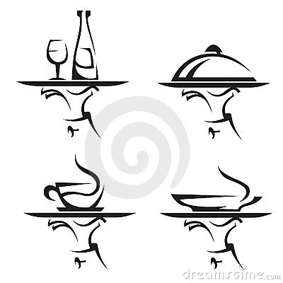 Free Restaurants Icon Set Stock Images - 15850944