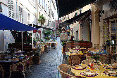 Restaurants in the provence