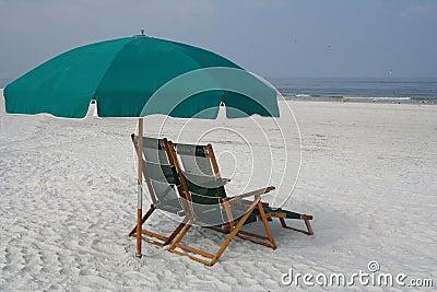 Restful beach