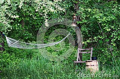 Restful camp site