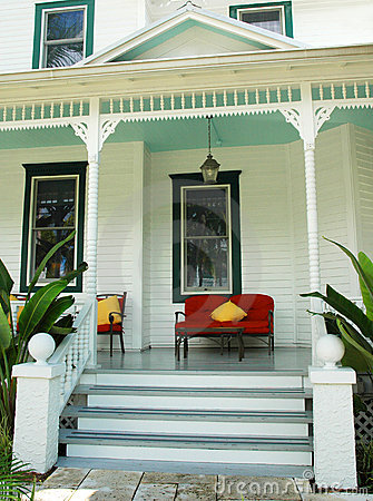 Restful House Porch