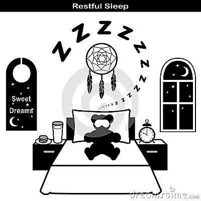 Restful Sleep Icons