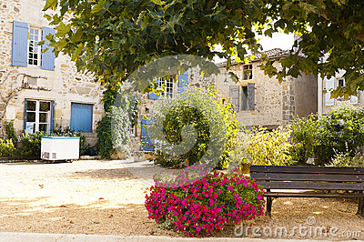 Resting area Saint Jean de Cole France