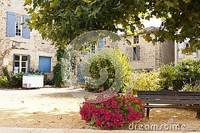 Resting area Saint Jean de Cole France