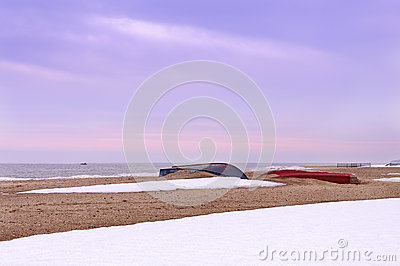 Resting boats Stock Photo