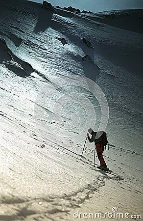 Resting Climber In Sambara Mare Valley
