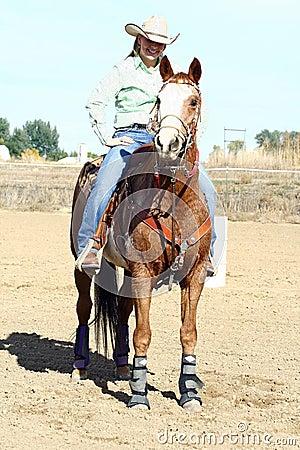 Resting Horseback Rider