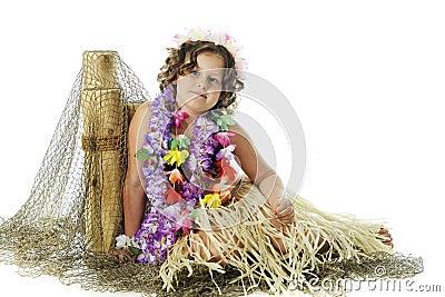 Resting Hula Girl