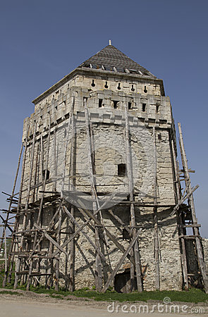 Restoration of fortress tower