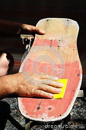 Restore an Old Skateboard