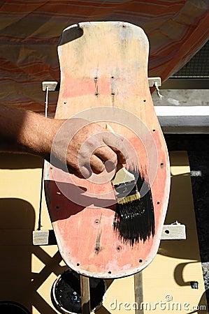Restore an Old Vintage Skateboard