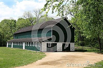 Restored Dairy Barn – County Park