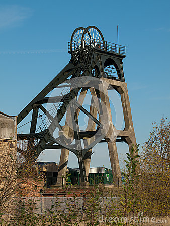 Free Restored Headstocks At A Local Colliery Site Stock Photos - 29278643