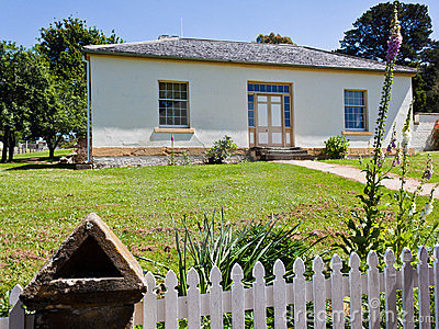 Restored staff house at Port Arthur