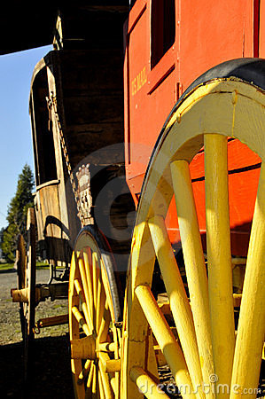Restored U.S Mail Stagecoach 2