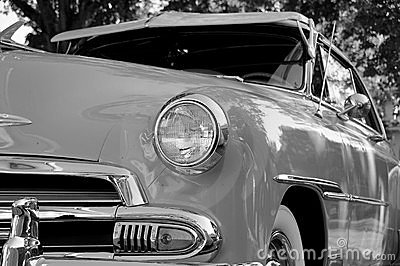 Restored Vintage Automobile