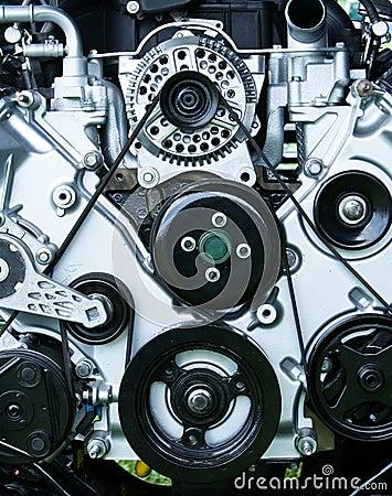 Restored Vintage Engine