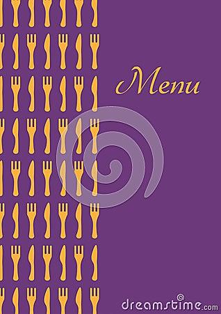 Restourant menu