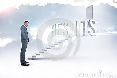 Results against white steps leading to closed door